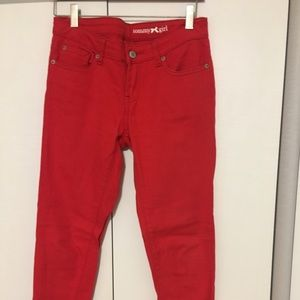 Red Tommy Girl Jeans